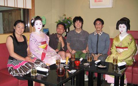 祇園で舞妓さんと遊ぶ★