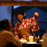 西陣夕涼み 浴衣ナイトカフェ